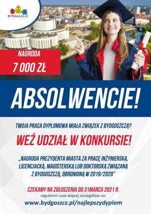 Nagroda Prezydenta Miasta Bydgoszcz za najlepszą pracę dyplomową