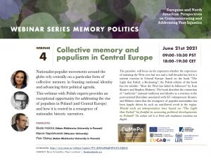 Webinar Collective memory and populism in Central Europe