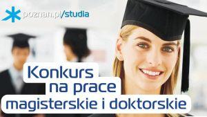 """Konkurs """"Nagroda Miasta Poznania za wyróżniającą się pracę doktorską"""