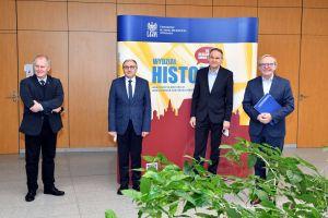 Podpisanie umowy o współpracy z Fundacją Rozwoju Miasta Poznania