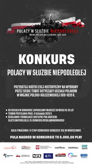 Polacy w Służbie Niepodległej   Wojna polsko-bolszewicka 1919-1920 r.