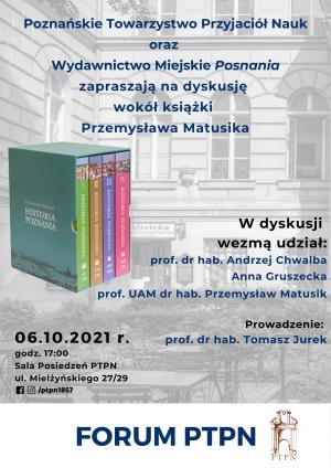 Forum PTPN wokół książki pt.