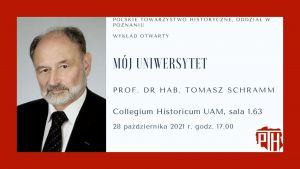 Wykład prof. Tomasza Schramma